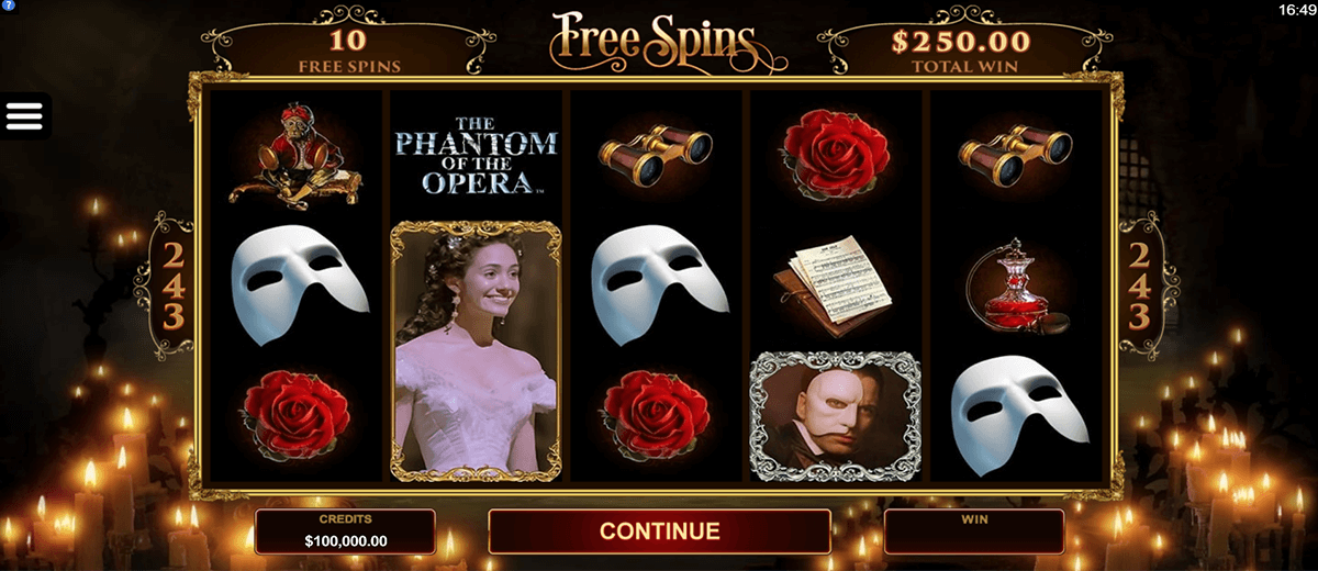 the phantom of the opera microgaming