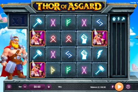 thor of asgard revolver gaming