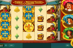 three musketeers red tiger