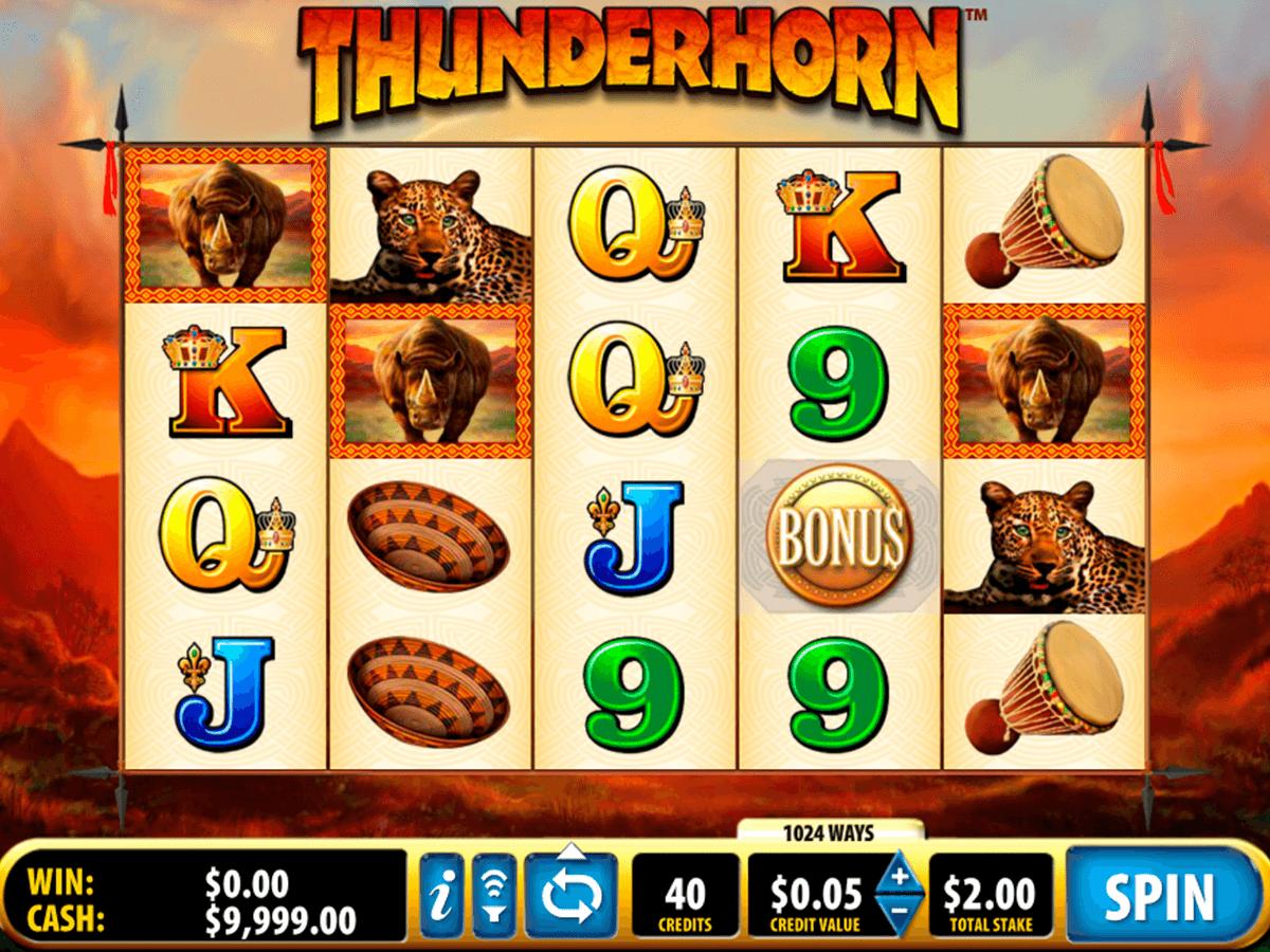 thunderhorn bally