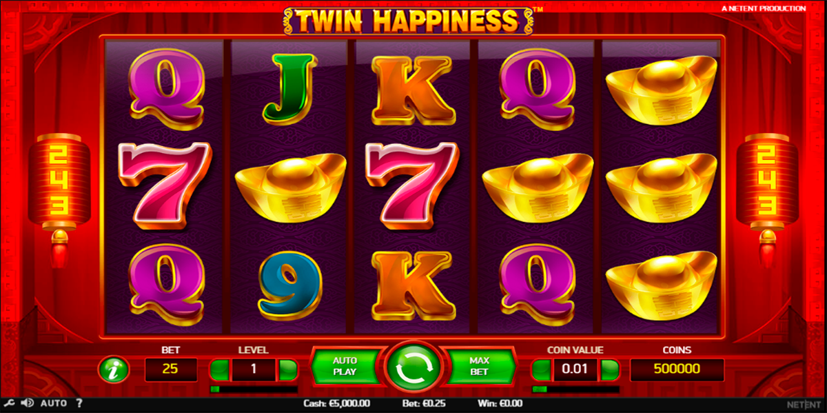 twin happiness netent