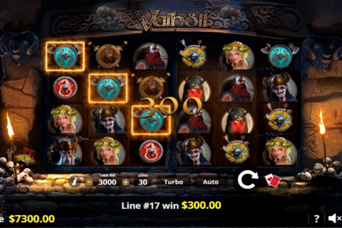 valholl hall of the slain lady luck games