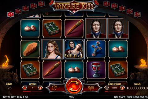 vampire kiss leap gaming