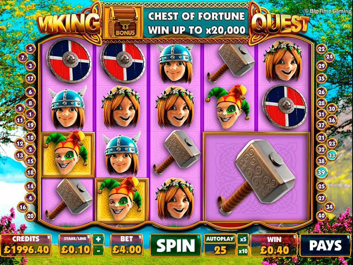 viking quest big time