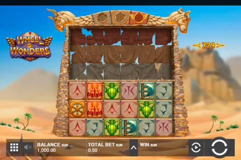 wheel of wonders push gaming