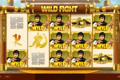 wild fight red tiger