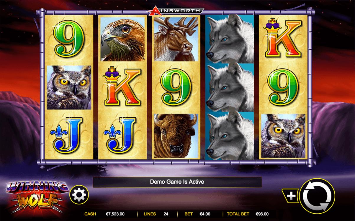 winning wolf ainsworth